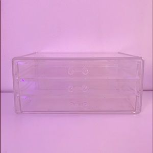 Clear Makeup Box